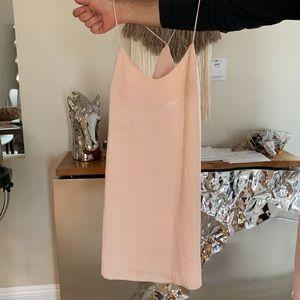 ASOS Peach Slip Dress